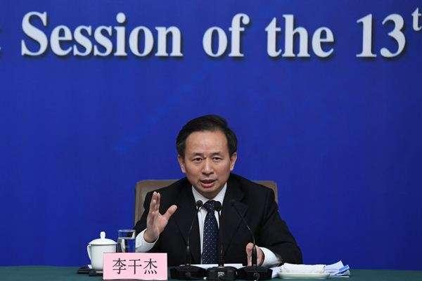 """李干杰履新生态环境部首任部长:""""工作范围更宽、事情更多、挑战更大"""""""