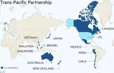 特朗普重提TPP 意欲为何?