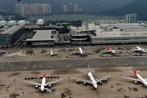 黑科技助力香港打造智慧机场 大湾区跨境数字物流网络提速